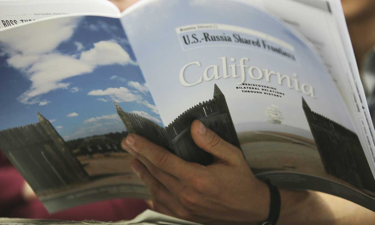 "The first edition of ""U.S.-Russia Shared Frontiers"" focuses on Russia's impact on California."