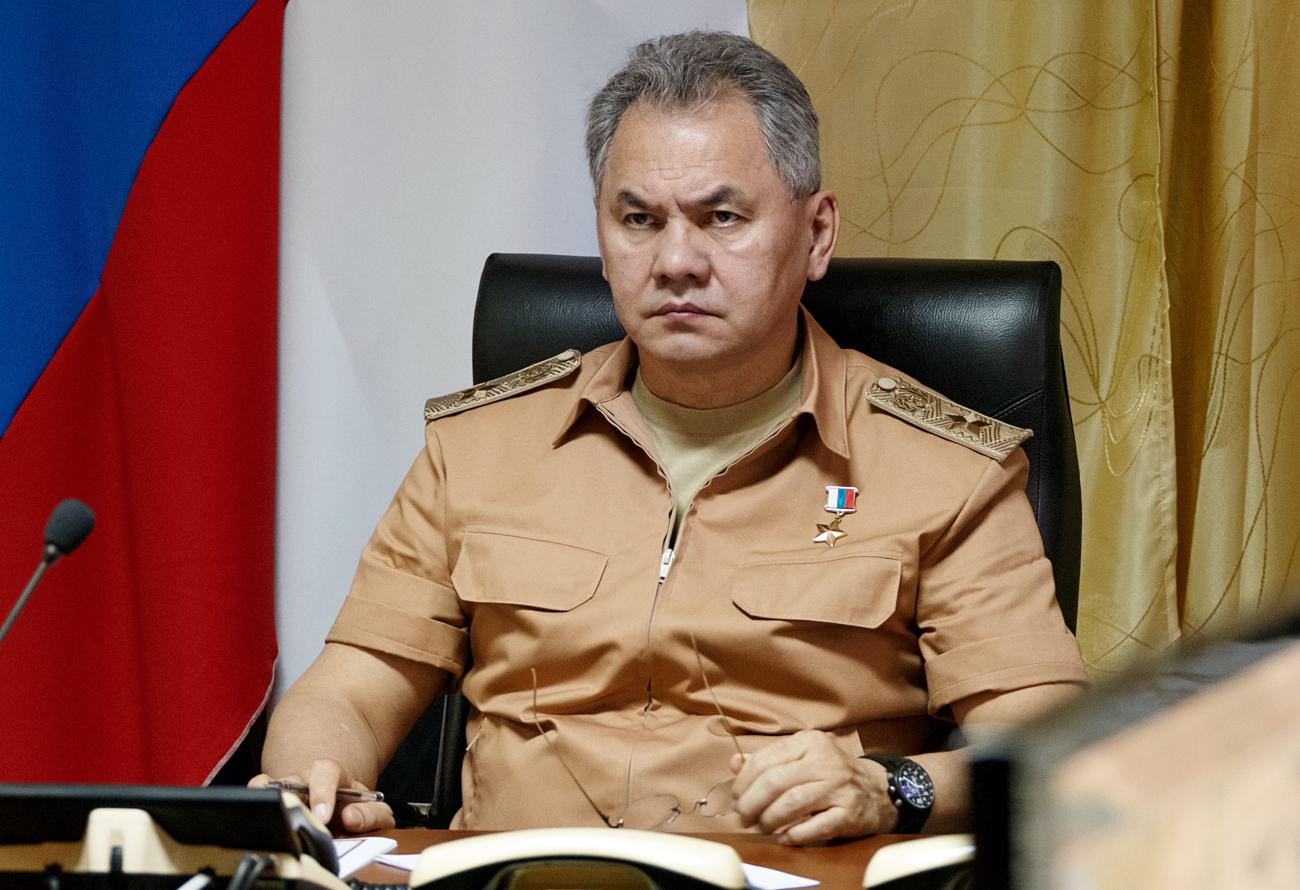 Menteri Pertahanan Rusia Jenderal Sergei Shoigu
