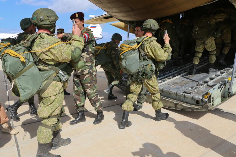 The Defenders of Friendship-2016 drills underway in Alexandria.