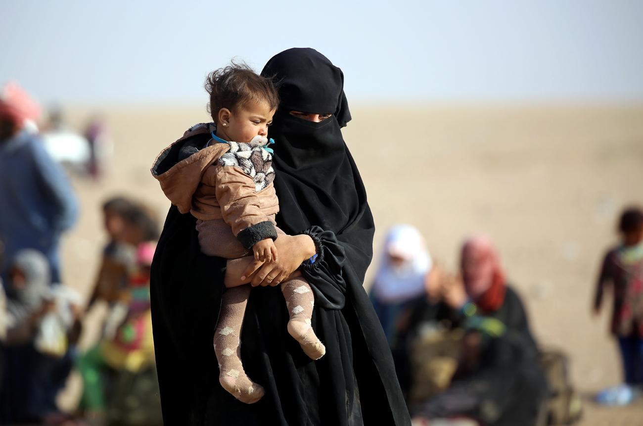 In Mossul verbleiben viele Zivilisten.