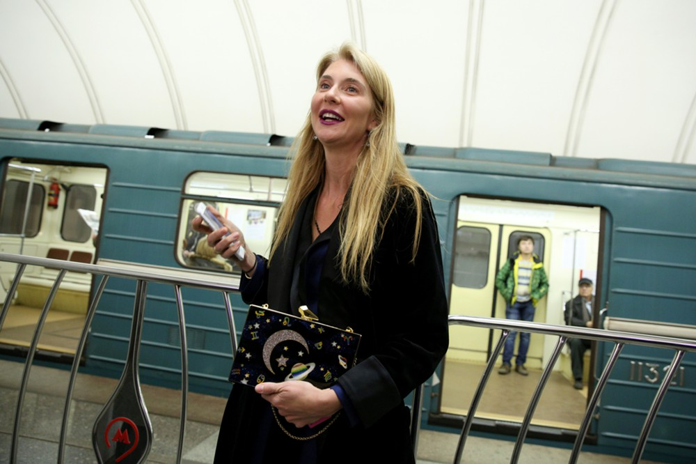 It is not the first time that the Moscow Metro has been a part of fashion life.
