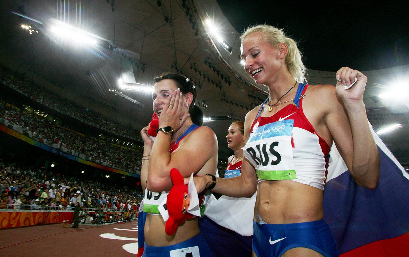 Fra gli atleti privati delle medaglie ancheYulia Gushchina e Yulia Chermoshanskaya\n
