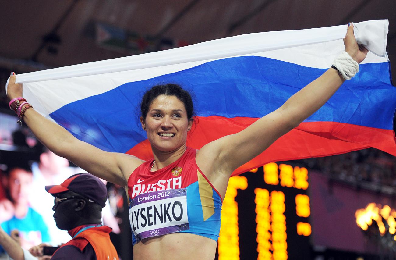 Fra gli atleti privati delle medaglie ancheTatyana Lysenko\n