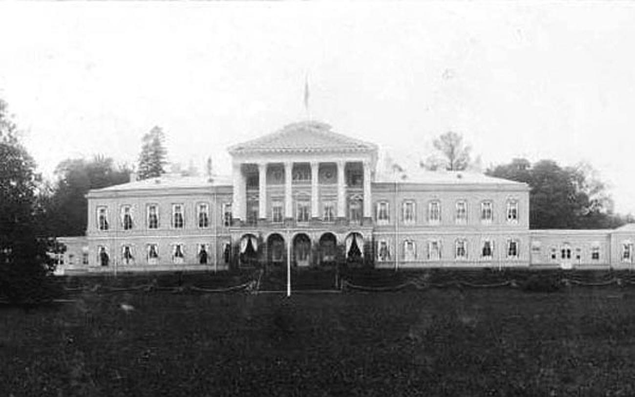 Foto do Palácio Ropsha antes de 1917 Foto: Arquivo