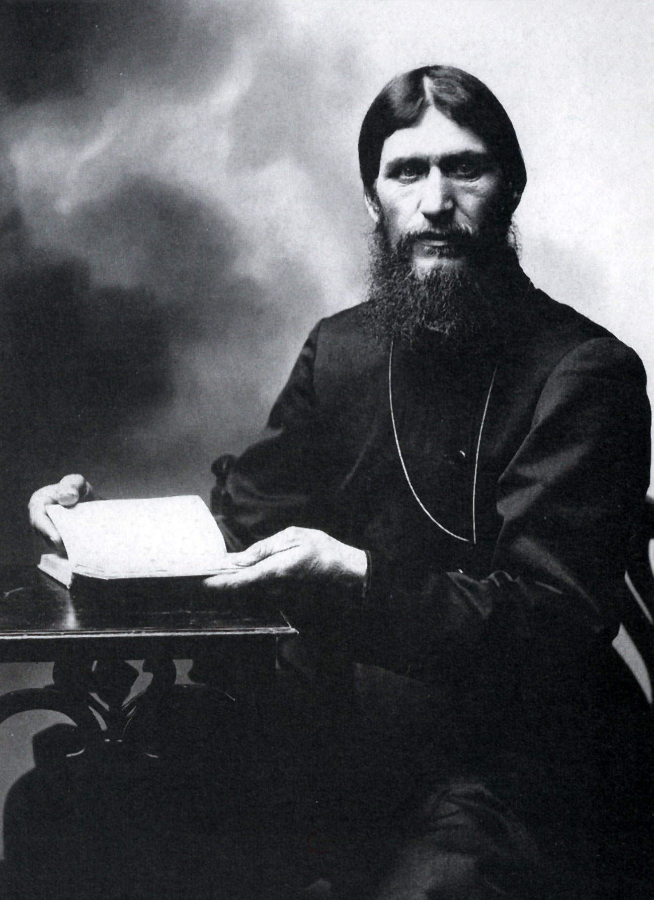 Grigori Yefimovich Rasputin (1869 – 30 December 1916) Russian peasant, mystical faith healer and private adviser to the Romanovs.