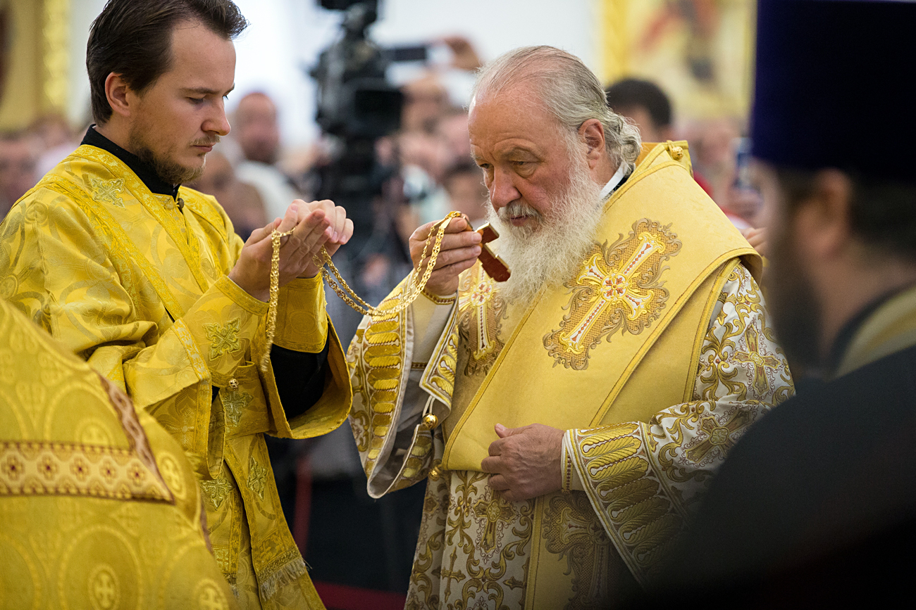 Patriarch of Moscow and All Russia Kirill.