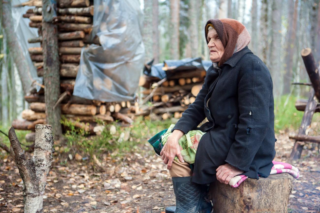Nina Makkoyeva, l'une des partisans de Souna.n