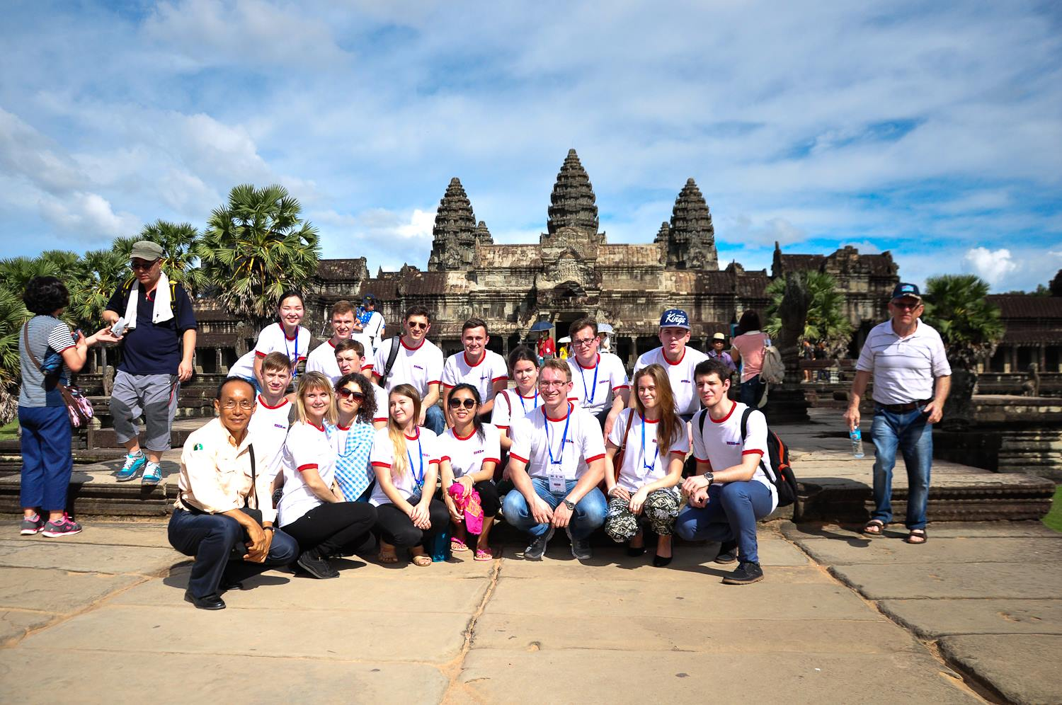 Participants of the 4th ASEAN-Russia Youth Summit in Siem Reap, Cambodia.