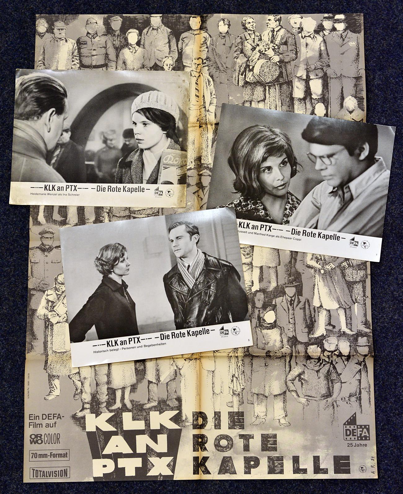 """Плакат на филма """"Червената капела"""". Снимка: DPA/Vostock-Photo"""