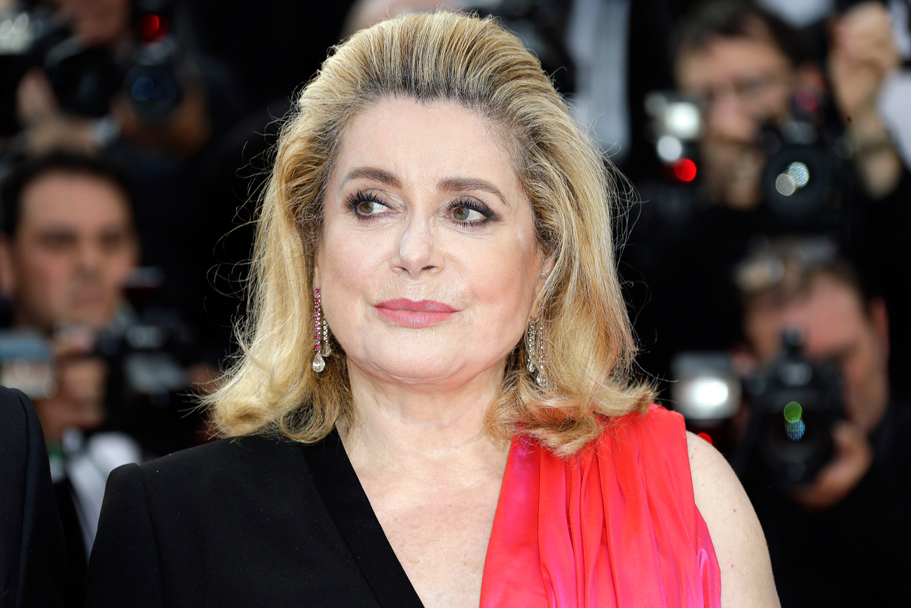 "Catherine Deneuve: ""I would like to live here for several months."""