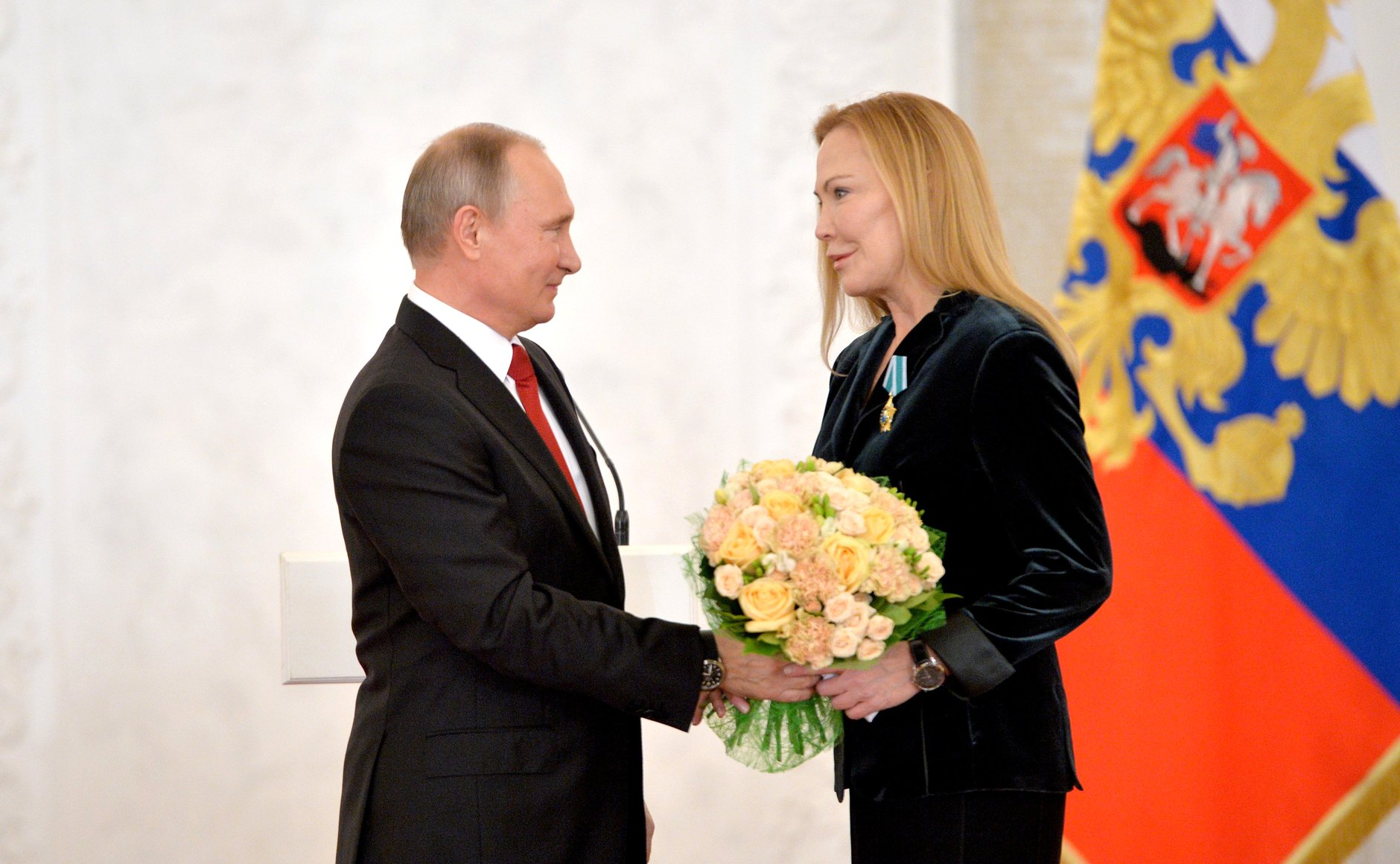 Russian president praised programs initiated in the U.S. by philanthropist Susan Lehrman.