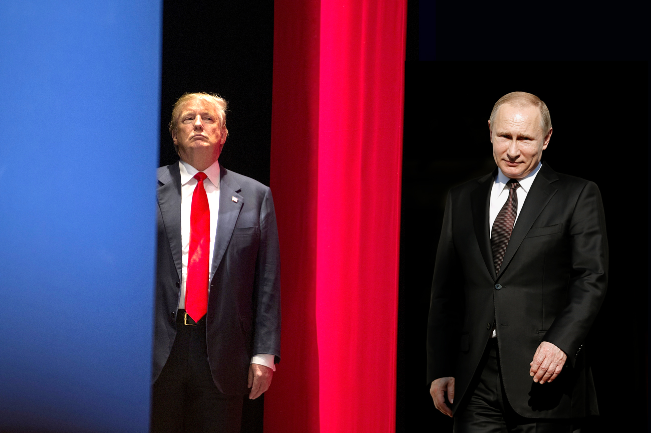 Quiz. Difference between Vladimir Putin and Donald Trump