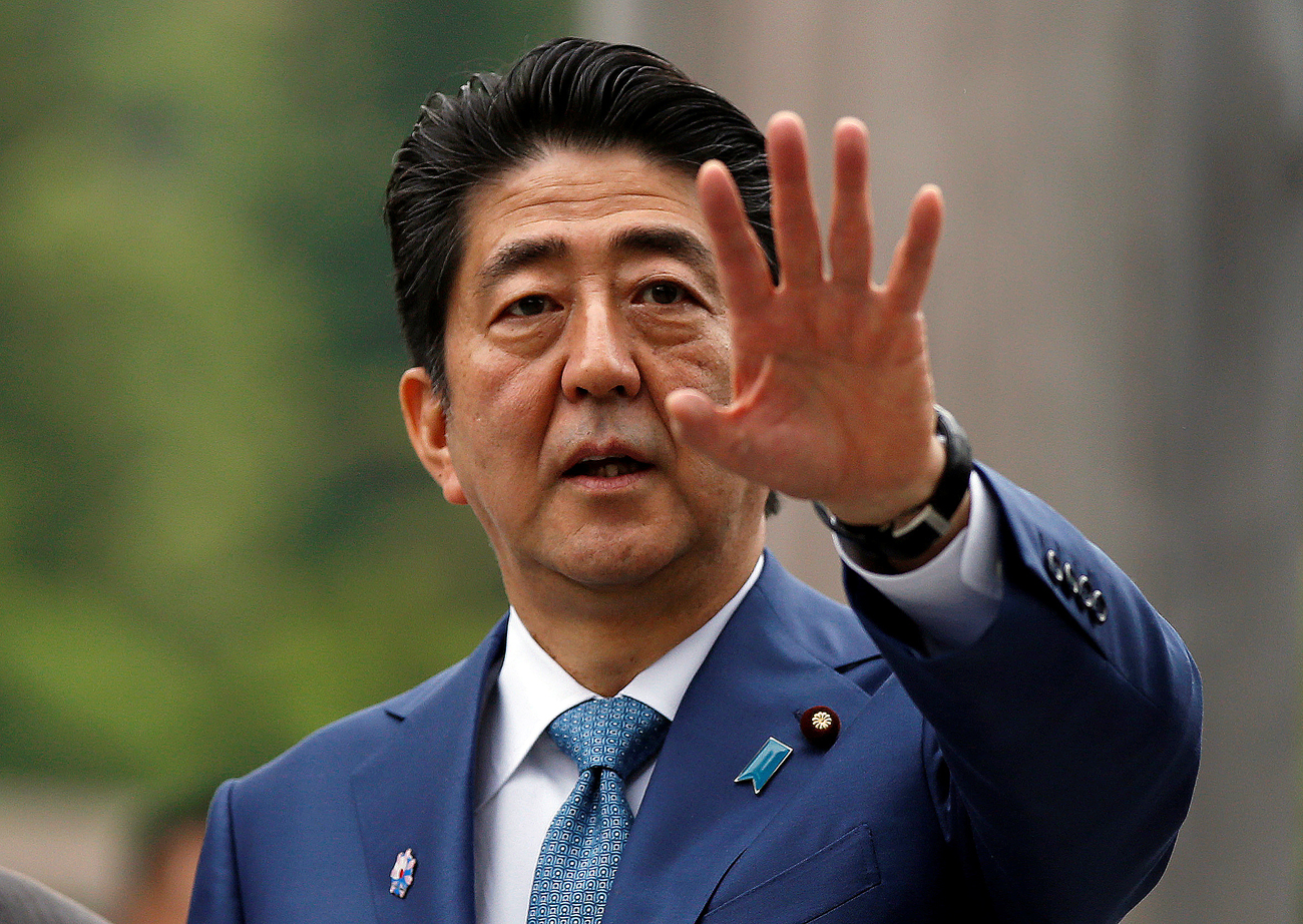 Japan's Prime Minister Shinzo Abe has never invited anyone to his home in the Yamaguchi Prefecture before.