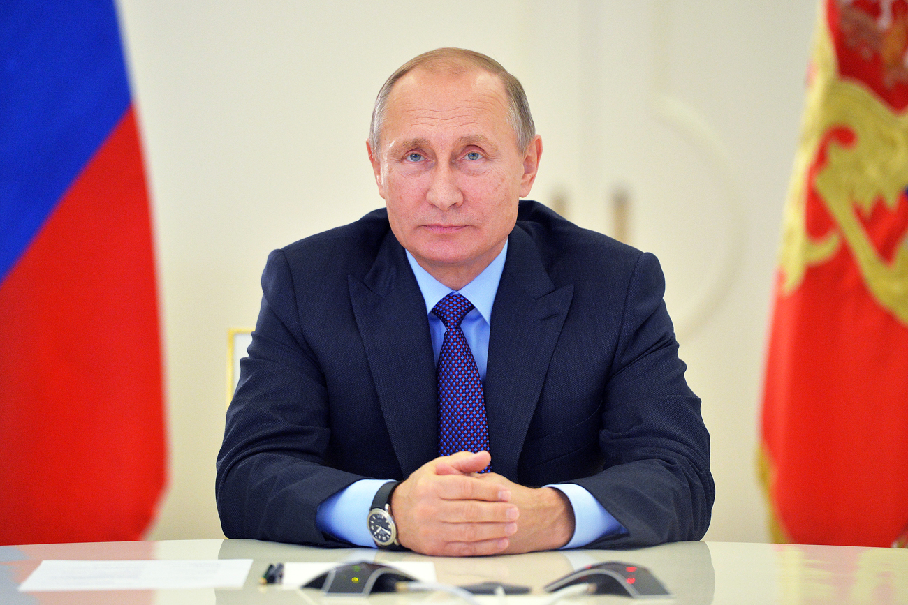 Putin's approval rating was 86.1 percent in the last week of February.