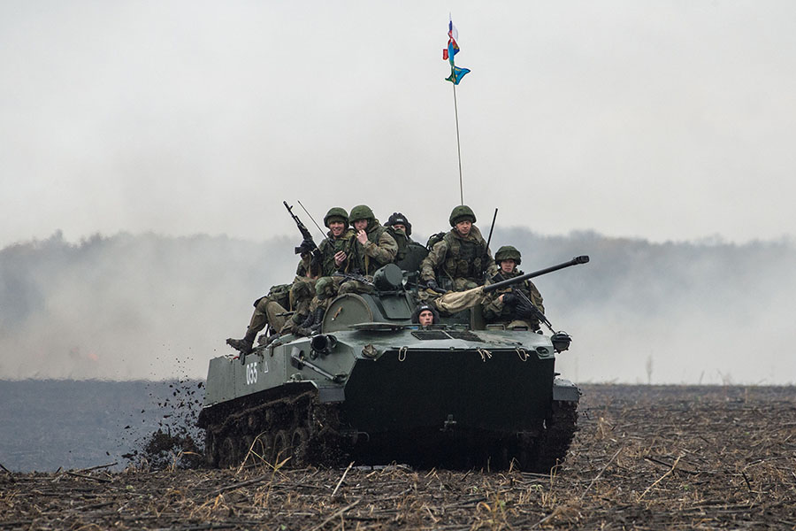 The Slavic Brotherhood international tactical exercise of Russian, Belarusian and Serbian military units was kicked off near Belgrade on Nov. 2-15, with about 200 Russian service members participating.