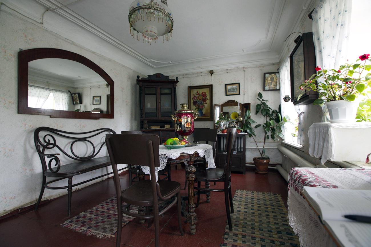 The interior of the House of the Merchant Peasant Gorokhov / Source: Oleg Smyslov/RIA Novosti