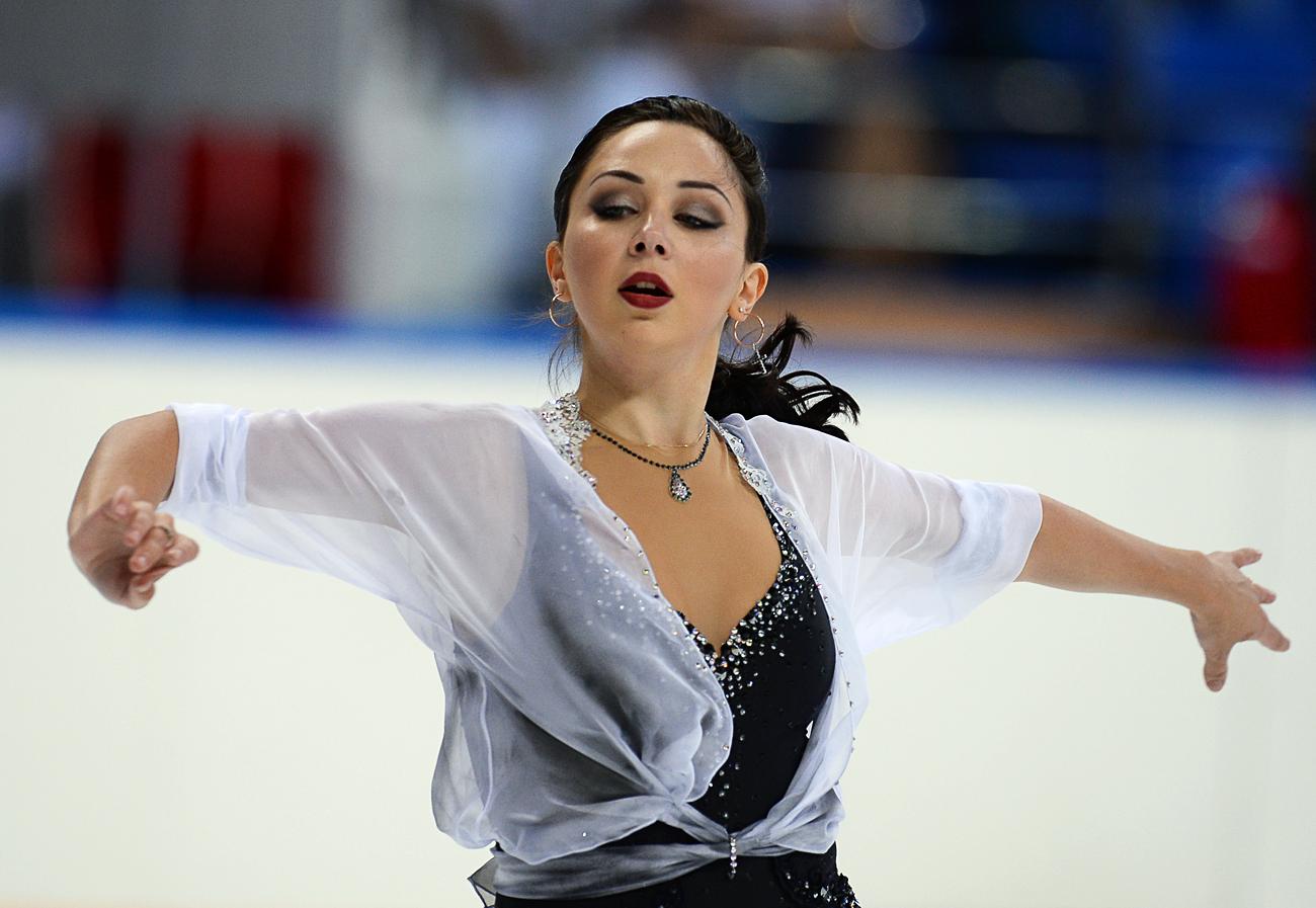 Elizaveta Tuktamysheva. Crédit: Nina Zotina / RIA Novosti