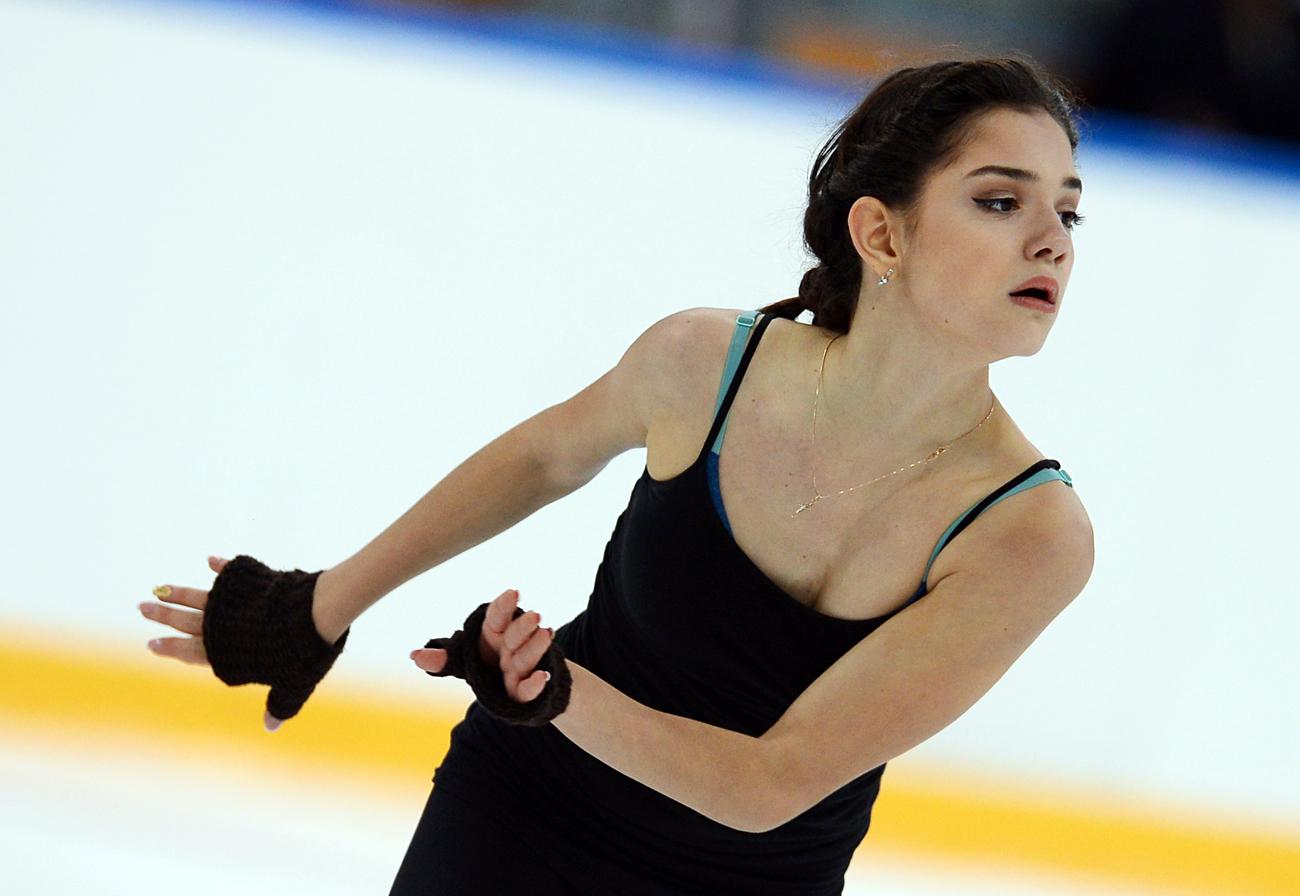 Evgenia Medvedeva. Crédit: Nina Zotina / RIA Novosti