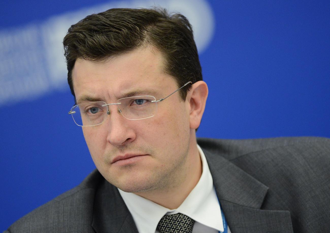 ロシア産業貿易省のグレプ・ニキーチン第一次官=
