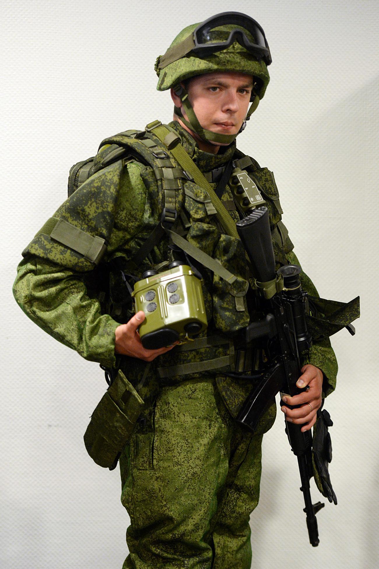 'Ratnik' modern military garment
