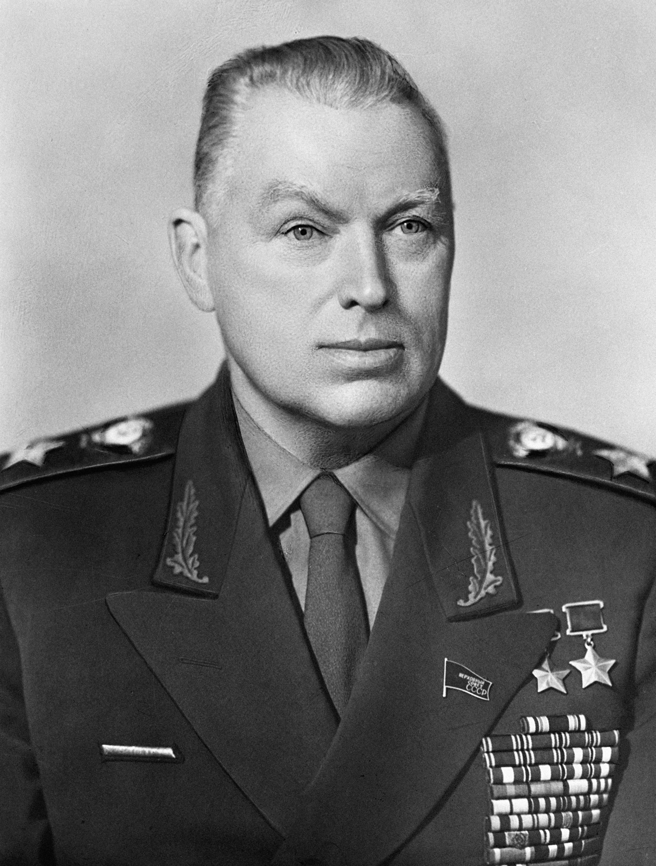 Konstantin Rokossovski. Crédit: Gregory Vail / RIA Novosti