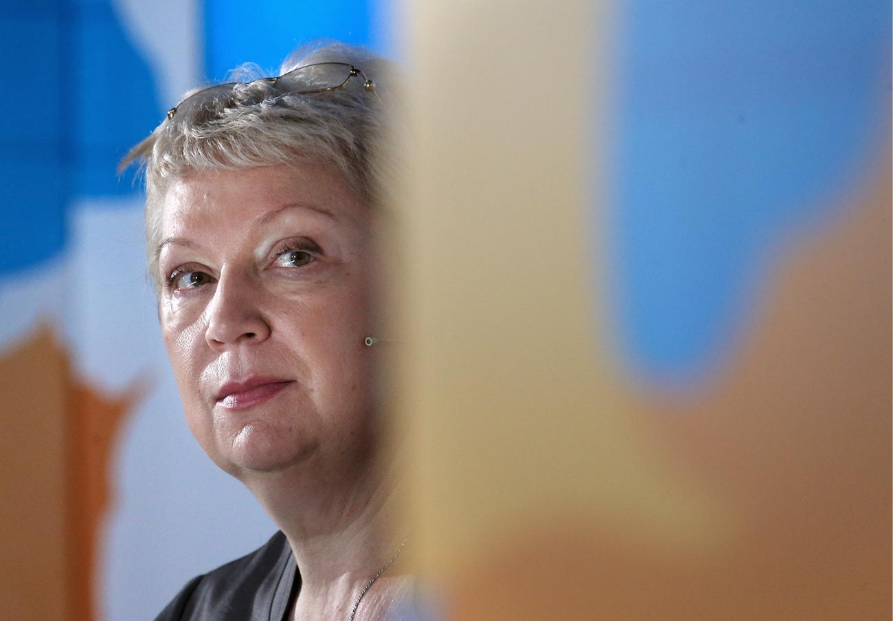 Russian Education and Science Minister Olga Vasilyeva.