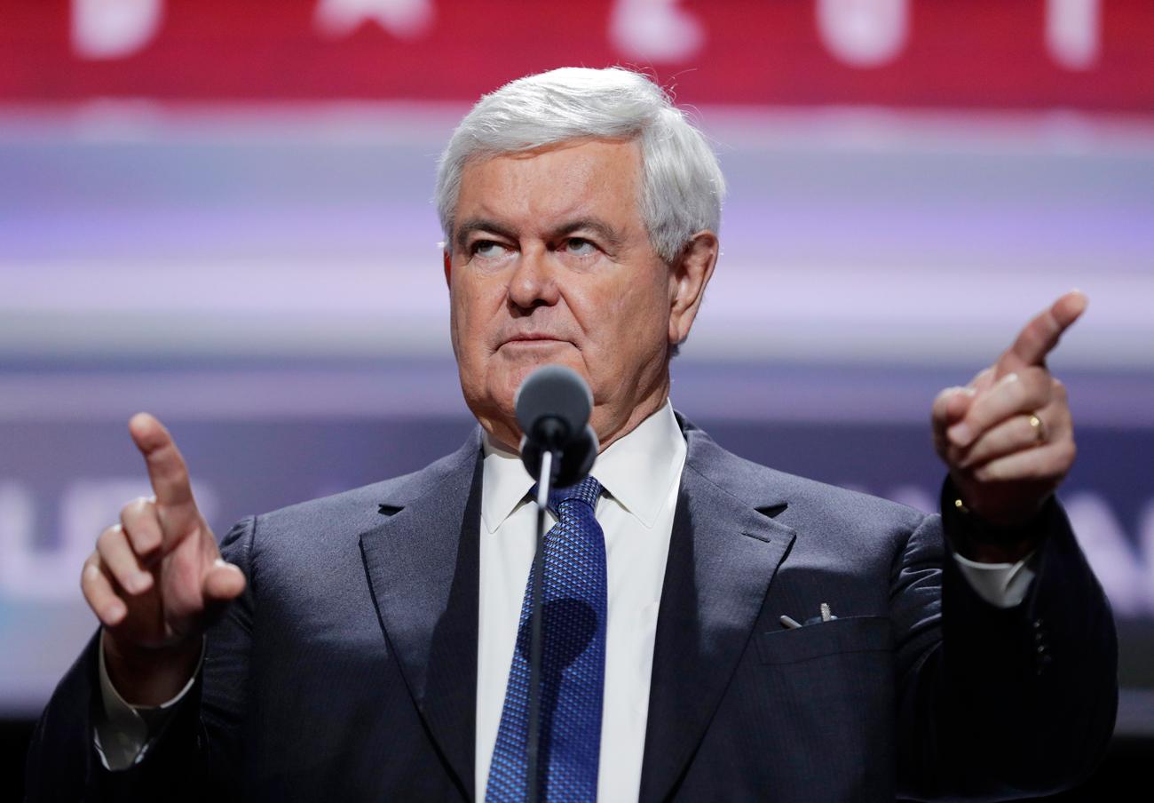 Newt Gingrich, probabile Segretario di Stato. Fonte: AP