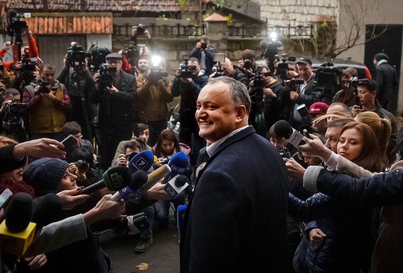 Президентът на Молдоша Игор Додон.
