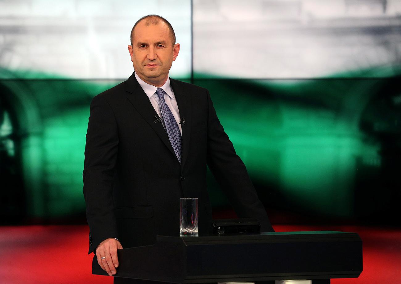 Rumen Radev. Foto: Reuters