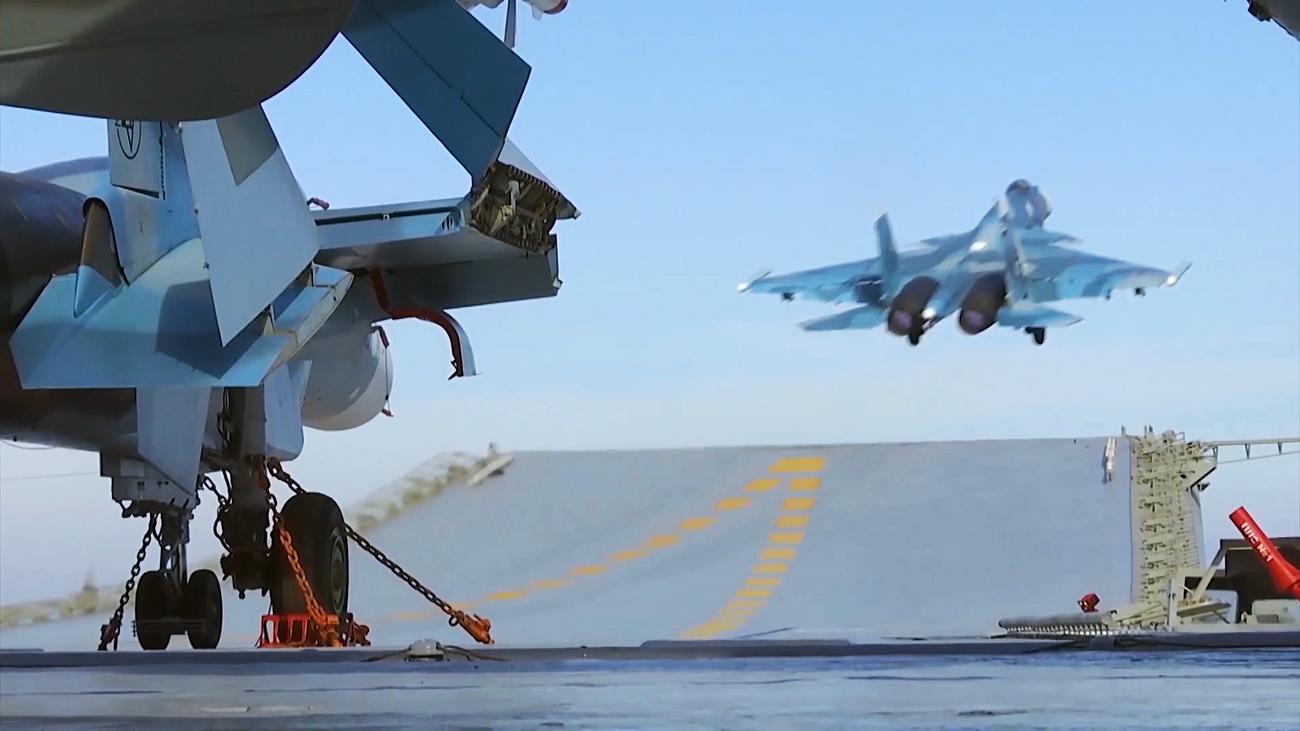 Su-33.