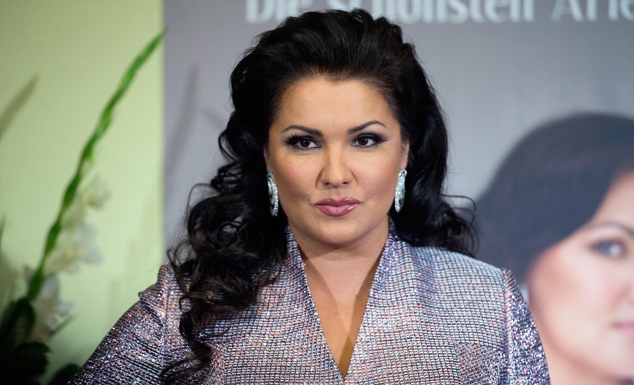 Руската оперска певица Ана Нетребко.