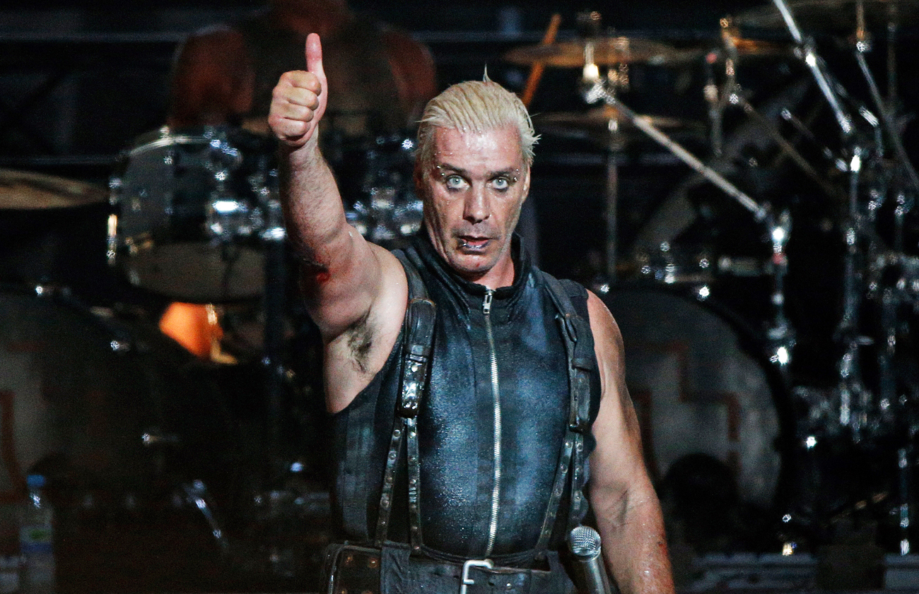 Till Lindemann wird seine Lyrik präsentieren.
