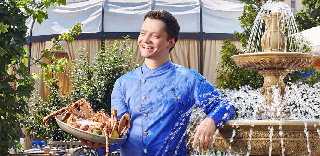 Alexey Pavlov, chef, ERWIN. RekaMoreOkean / Photo courtesy of ERWIN. RekaMoreOkean restaurant