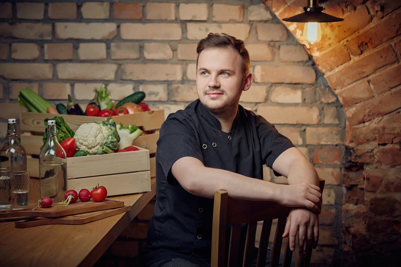 Artem Minakov, chef, True Cost Bar&Grill / Photo courtesy of True Cost Bar&Grill