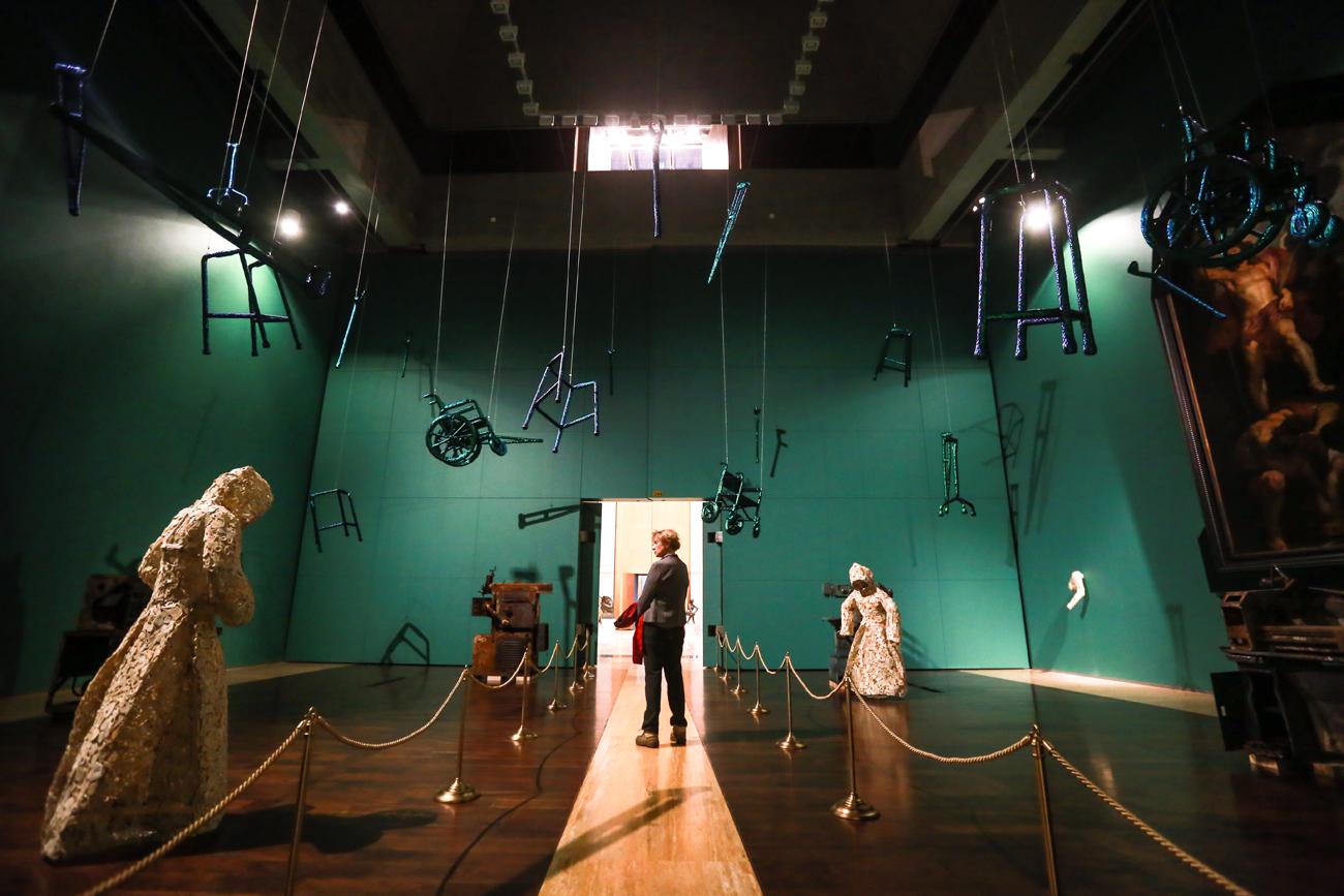 L'exposition de Jan Fabre au musée de l'Ermitagen