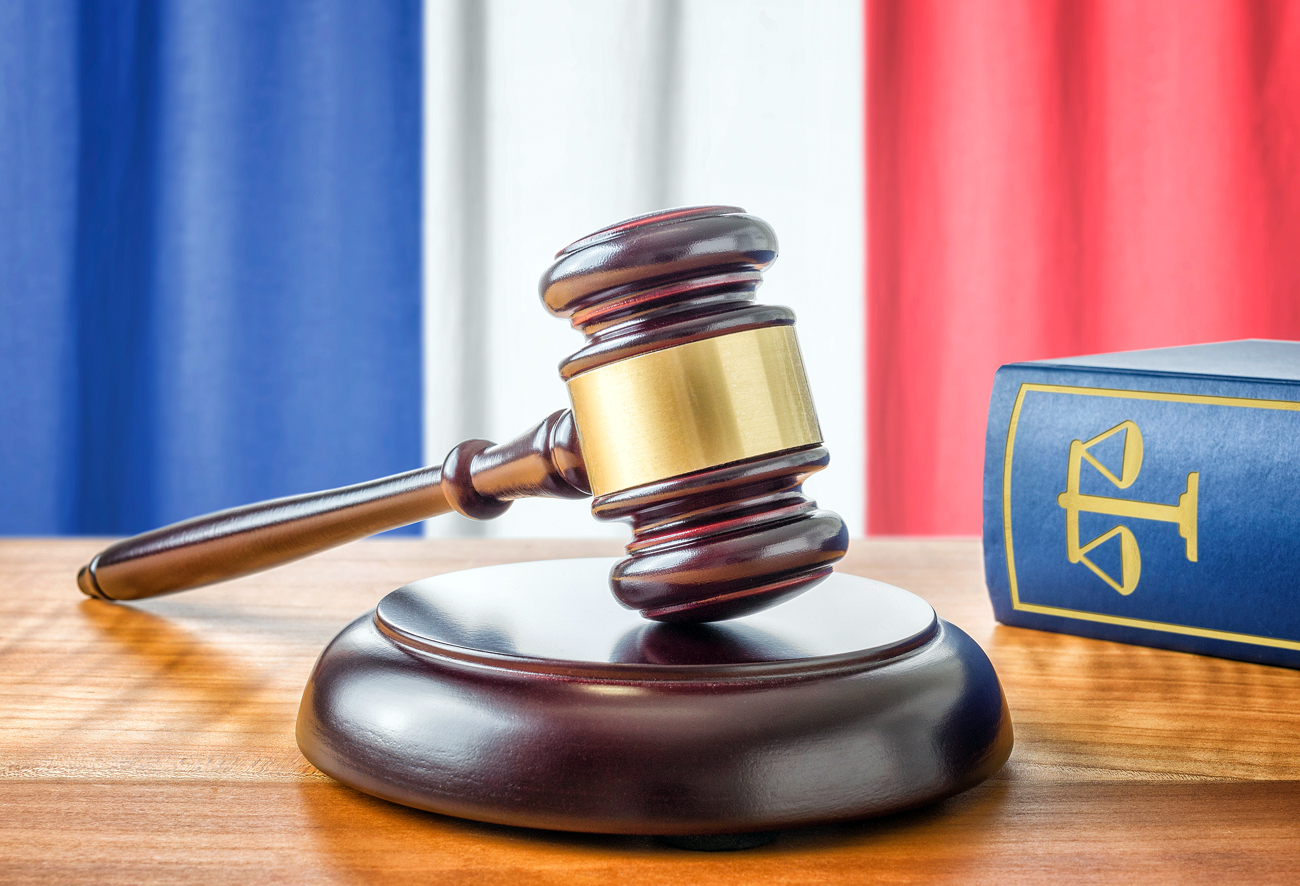 Yukos case France