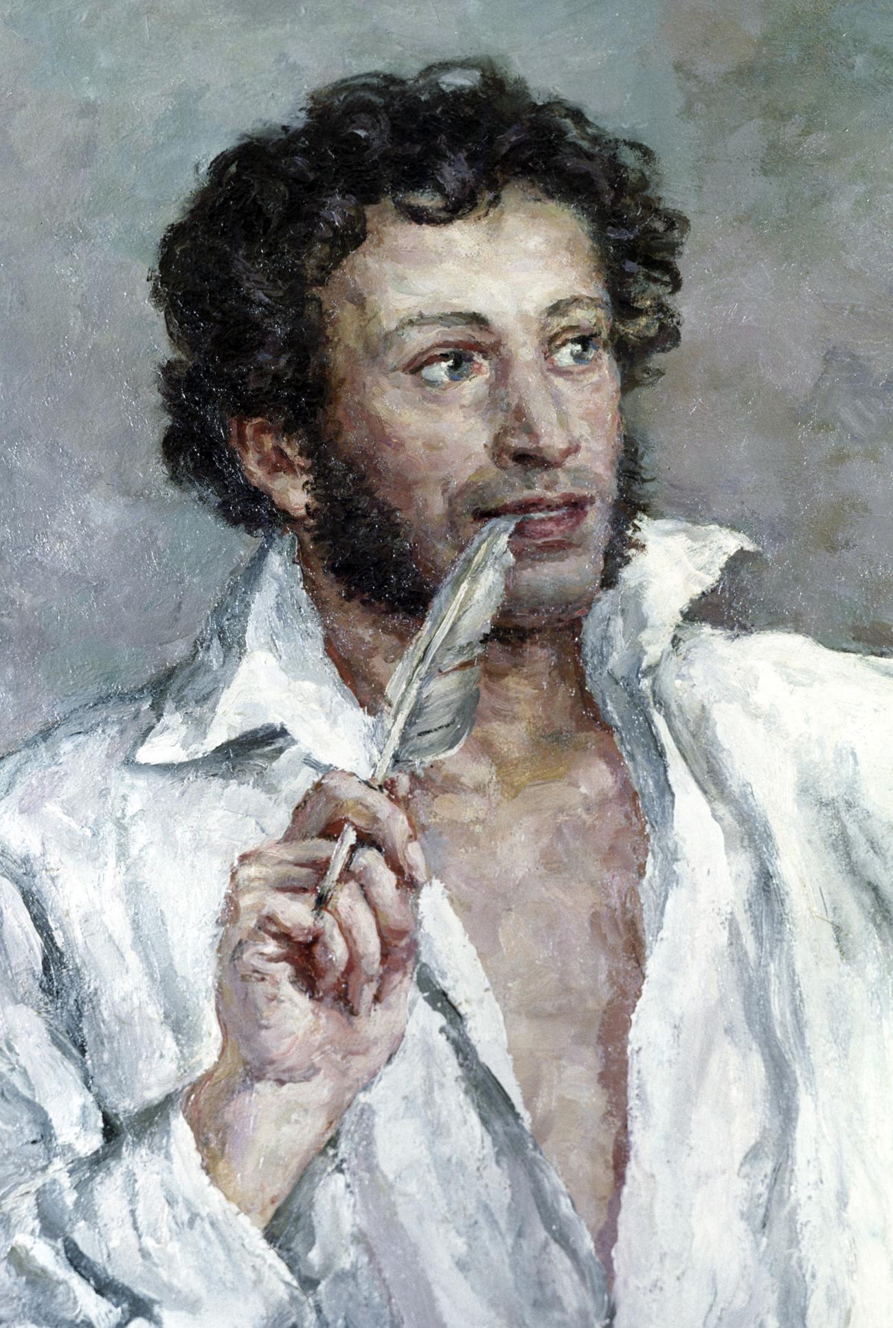 """""""Александър Пушкин"""", Пьотр Кончаловски."""