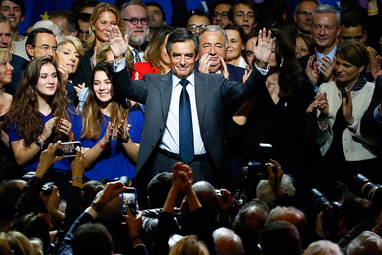 Moskau könnte von einem Sieg des Konservativen François Fillon profitieren.