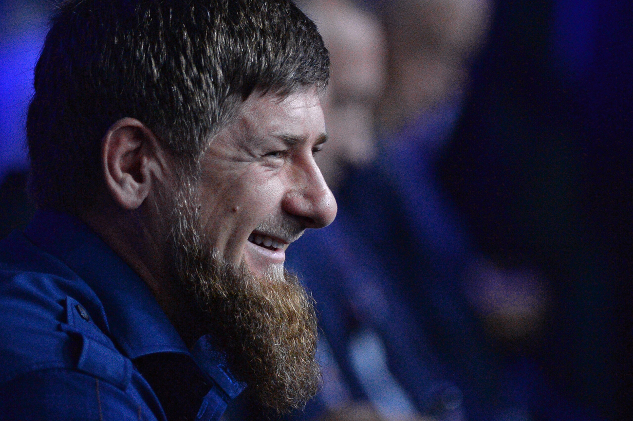 Head of Chechen Republic Ramzan Kadyrov at the plenary session A New Standard in Public Administration: Projects for Growth, Projects for Life at the Sochi International Investment Forum 2016.