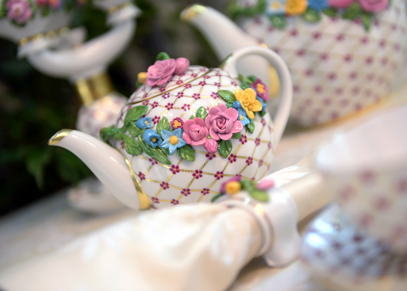 Products of the Imperial Porcelain Factory.