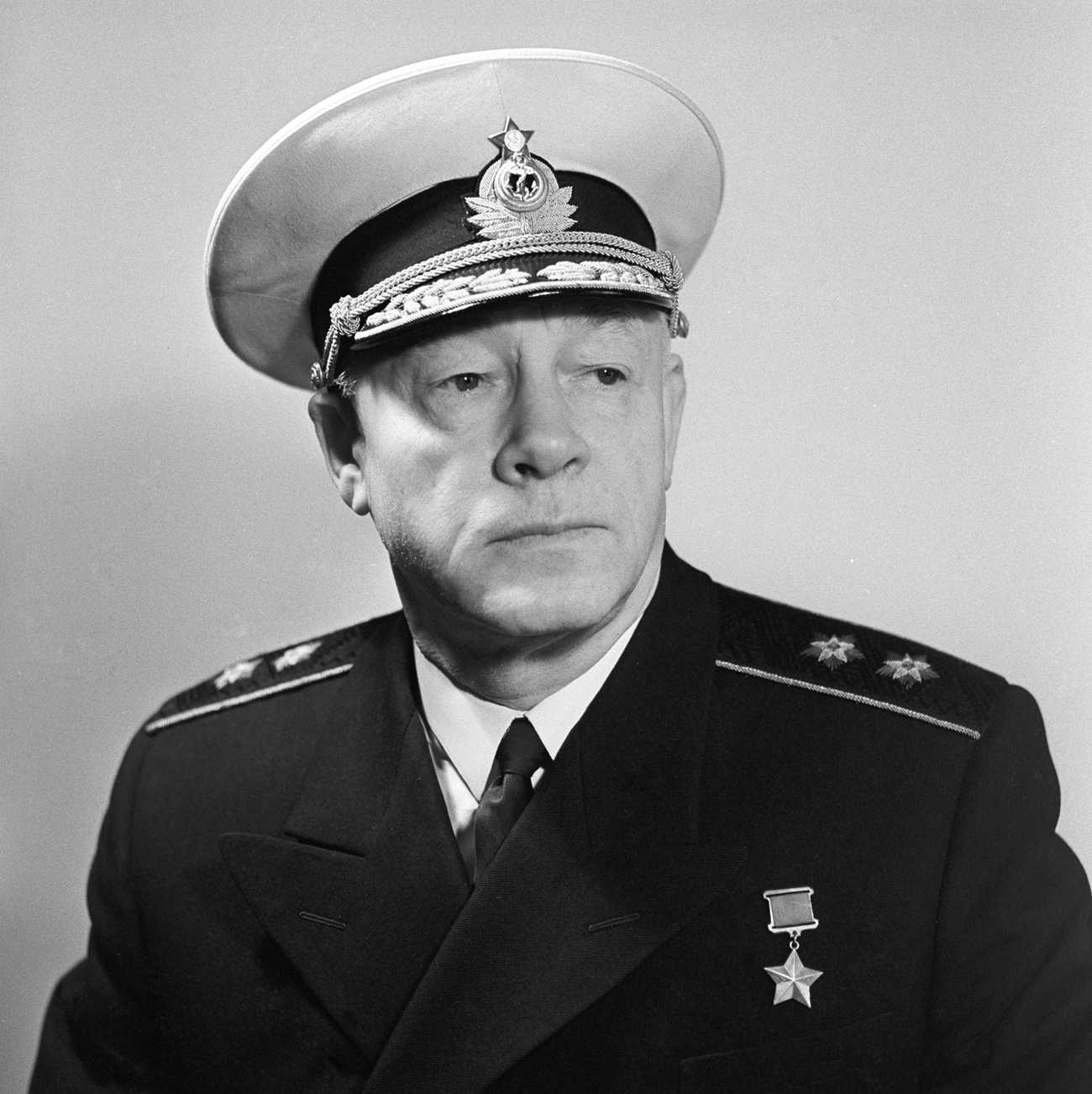 El Almirante Nikolái Guerásimovich Kuznetsov (1904-1974).