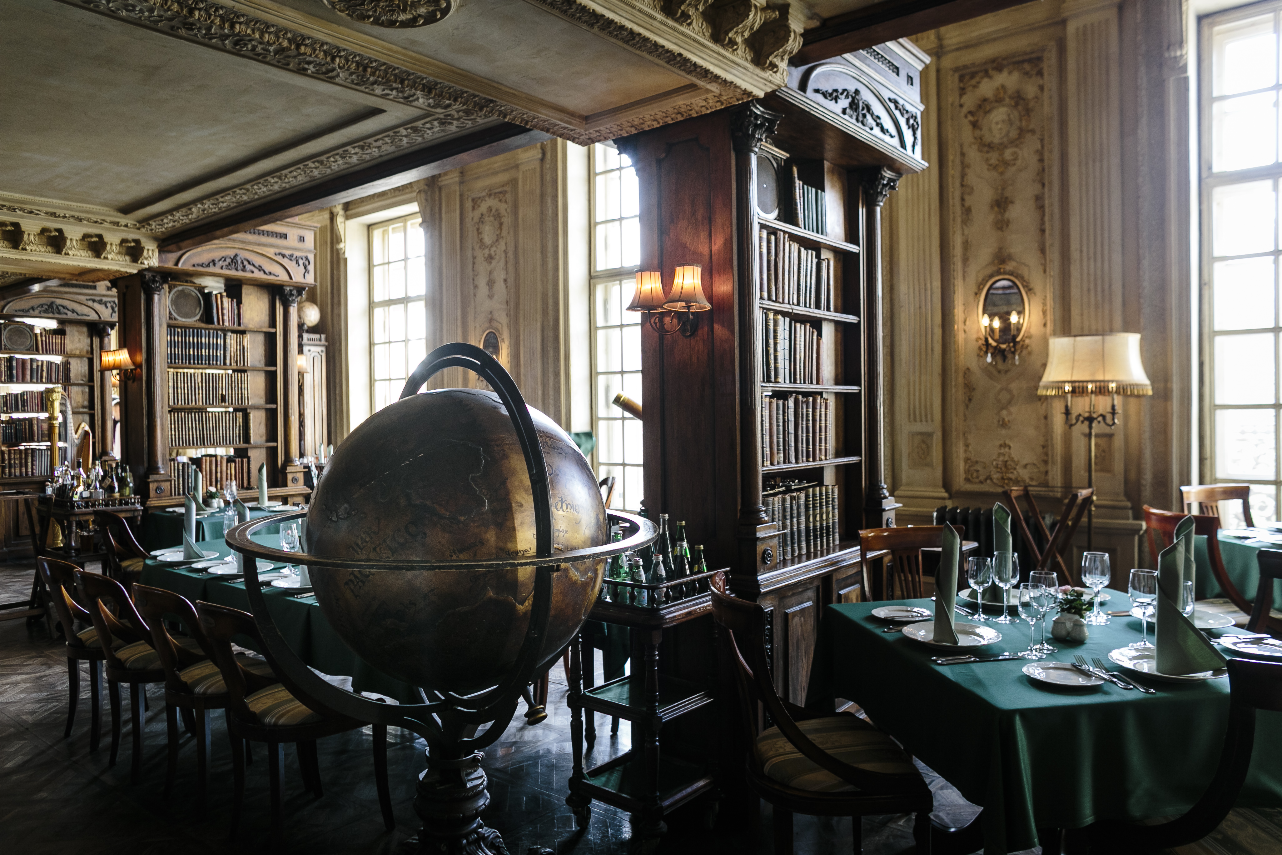 Located in the heart of the city in a Baroque mansion on Tverskoi Boulevard, Café Pushkin attracts both Russia's sophisticated beau monde and curious foreign tourists.