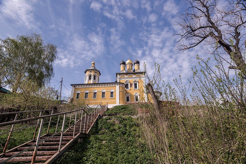 The St. Nicholas Church on the Embankment