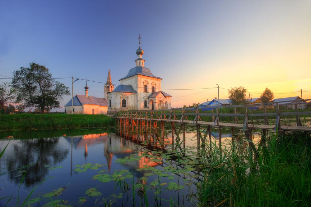 Bogoyavlenskaya church in Suzdal