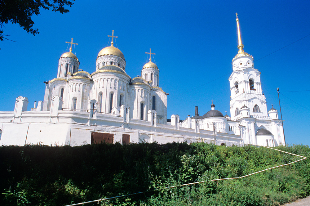 The Dormition Cathedral in Vladimir