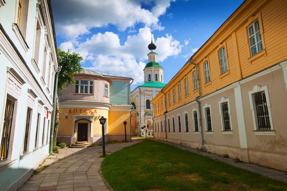 A historical street in Vladimir
