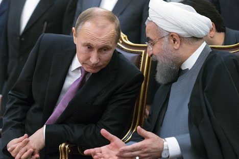 Moscow and Tehran have contradictory interests.