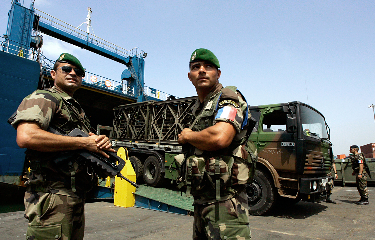 The French Foreign Legion is among the most battle-worthy units of France's armed forces.