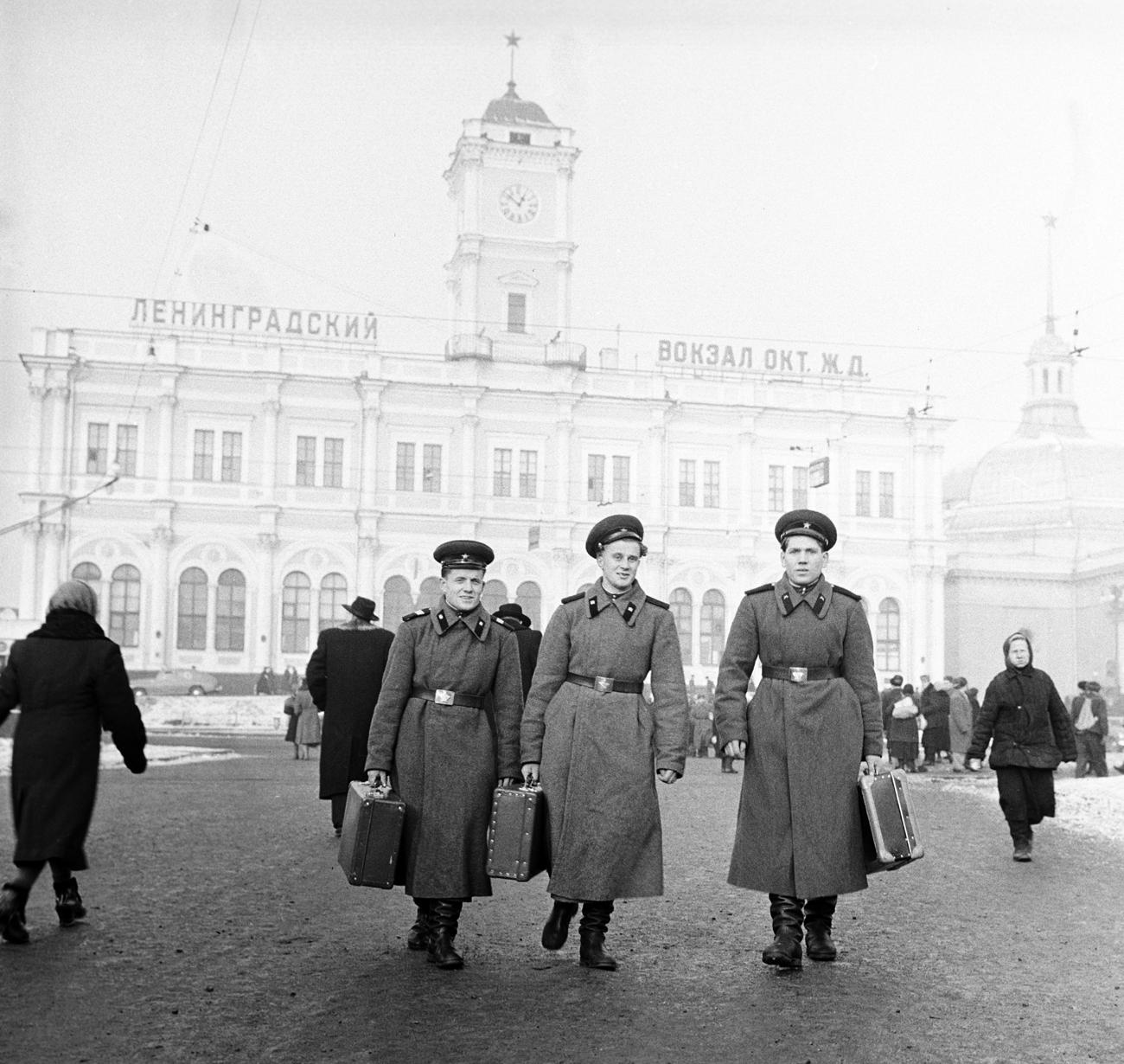 La stazione di Leningrado. Fonte: Chernov / RIA Novosti