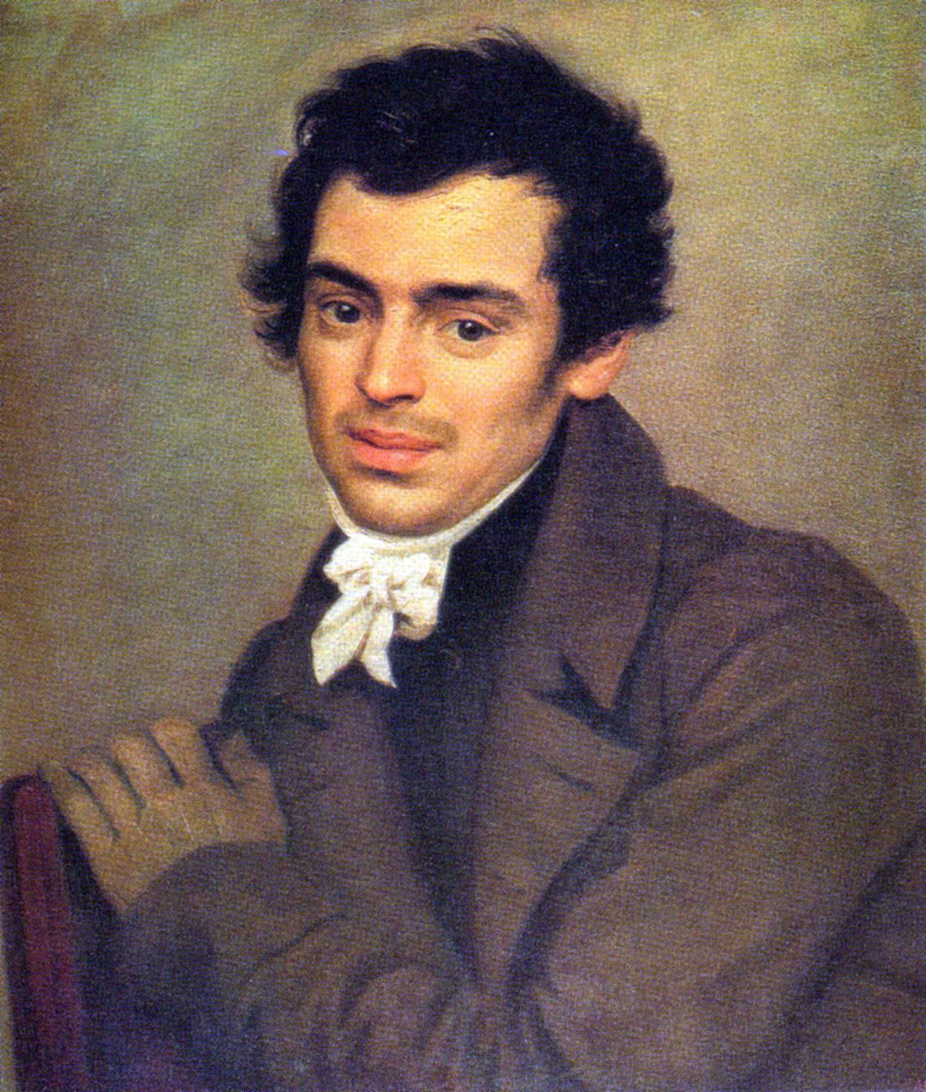 Der Architekt Konstantin Ton war maßgeblich am Bau der Bahnhöfe beteiligt. Porträt von Karl Brjullow.